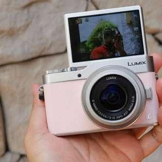 Camera mirorles lumix gf9 4k videos cukup bayar 900ribu saja