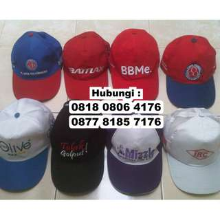 Topi promosi Model base ball / muvet / bisbol kustom