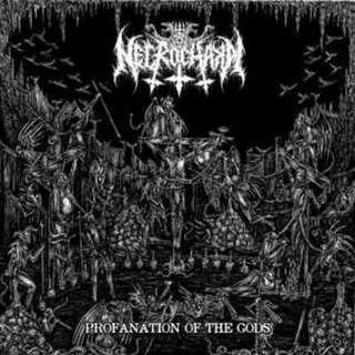Necrochakal – Profanation Of The Gods CD