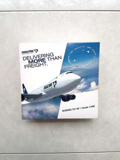 Rare Panalpina Boeing 747-800F  Scale 1:400 Brand New and Never Displayed