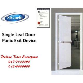 St Guchi Single Leaf Door Panic Exit Device