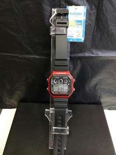 """AE-1300WH-4A卡西歐品牌手錶""""Casio""""日本機芯一年保養"""
