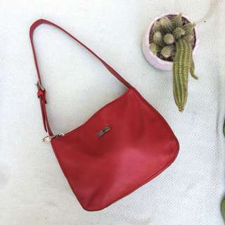 Small Red Tote Bag