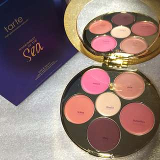 AUTHENTIC SOLD OUT TARTE CHEEK AND LIP COLOUR PALETTE RRP $60
