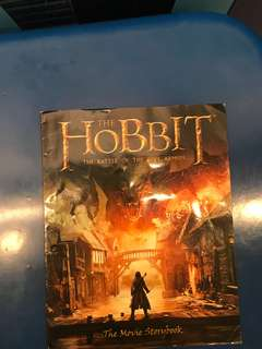 The hobbit-the movie storybook