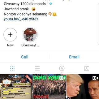 Akun Instagram 100k followers