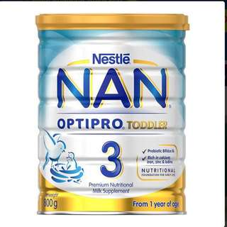 Nestle NAN Optipro Toddler Stage 3