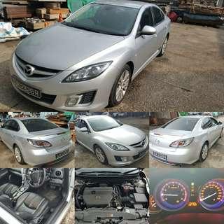 Mazda 6 2.5 auto 2008/09 RM7,600 CASH