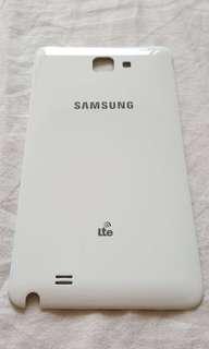 (Original, 90% New) Samsung Note 1 Lte back case cover  《9成新、原廠、香港三星正貨》 Samsung Note 1 Lte 手機背殼  https://www.samsung.com