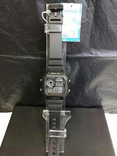 """AE-1200WH-1A卡西歐品牌手錶""""Casio""""日本機芯一年保養"""