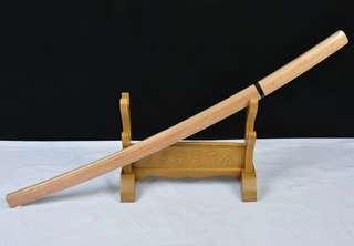 核桃木牛角武士刀 T10覆土燒刃 katana 日本刀