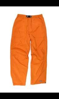 收購 收購 收購Nike ACG Orange Windbreaker Pants 非adidas 風褲 風衣