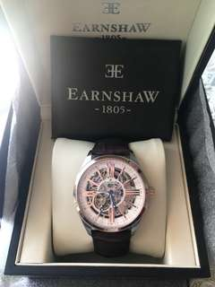 2折賤放全新正品英國earnshaw自動機手錶