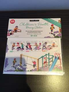 New Zealand Stamps Children's health being active