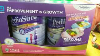 Pediasure Complete Twin Pack Free Gift