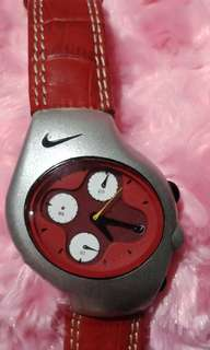 Repriced!!!Original NIKE leather watch