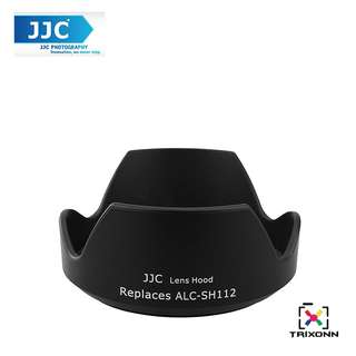 JJC LH-112 Replacement Lens Hood for Sony SEL16F28 16mm f/2.8 ,SEL 18-55mm Zoom Lens (SH-112)