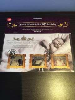 New Zealand Stamp queen Elizabeth II 90th birthday