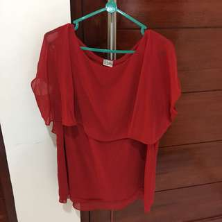 Red Top / Blouse