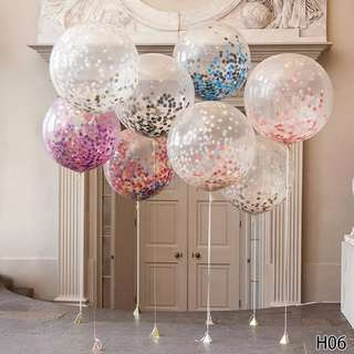 Party balloon latex transparent balloon