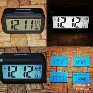 Digital Alarm Clock with Big Display (not cellphone,smartphone,console games,gift,lady,men,boys,girls,time,casio,watch,sleep,light,night,laptop,action cam,