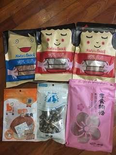 🚚 6包零食+玩具