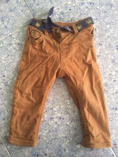 Brown Chinos 6-9month
