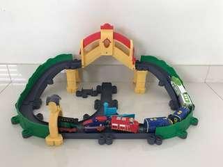 Tomy train set