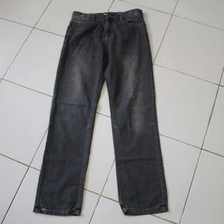 Faded Black Jeans/Gray Pants