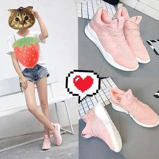 🚚 粉色休閒鞋