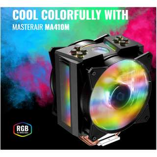 Cooler Master MasterAir MA410M ( TUF Gaming Edition ) Coolermaster  Asus TUF Gaming Alliance