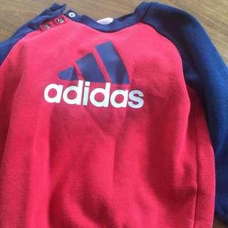 🚚 Adidas 愛迪達正品寶寶套裝80-90