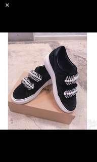 減價♥️韓國絲絨厚底鞋