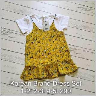 Dress set for kids