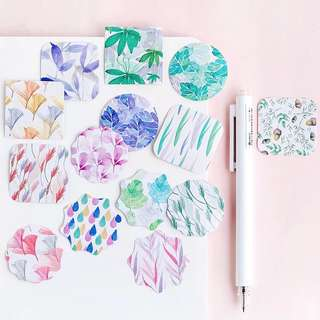 (PO) Floral Print Stickers