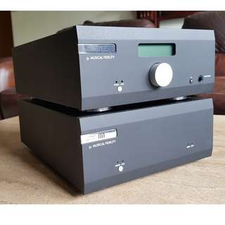 Musical Fidelity M1 SDAC and Stereo Power Amplifier