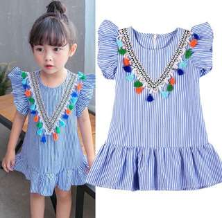 Girl Tassel Dress