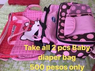 ✅Baby diaper bag