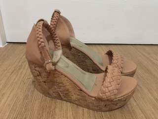 Customized wedge sandal from Liliw
