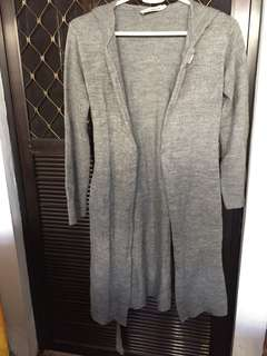 Large long cardigan