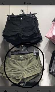 Hotpants H&M army