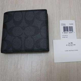 Authentic Coach Men's Wallet