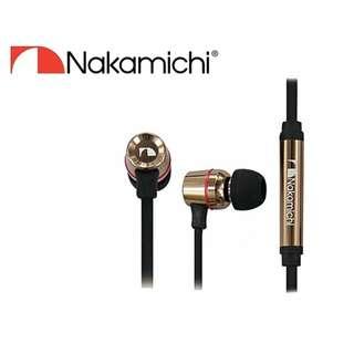 Nakamichi NEP-MV7 入耳式耳機(黑/金)-原裝行貨