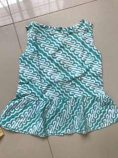 Baby dress batik