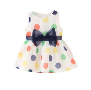 SB 033 Girl Cute Polka Dot Dress