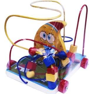 Mainan Edukasi Anak WIRE GAME SPONGEBOB