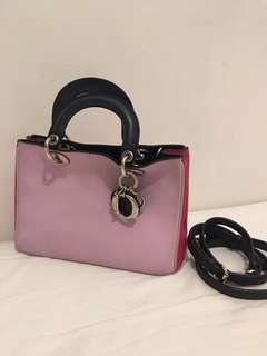 [Dior] Diorissimo pink bag small size