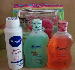 Pureen travel set