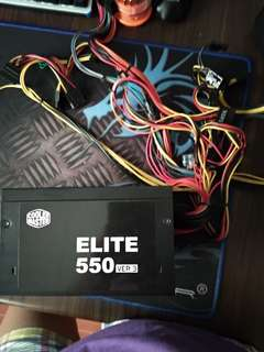 CoolerMaster 550w Eliter Power supply (PSU)