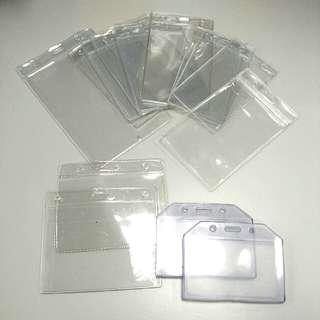 Transparent ID card Badge Holder